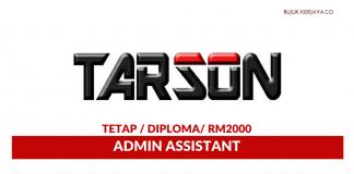 Tarson Marketing ~ Admin Assistant