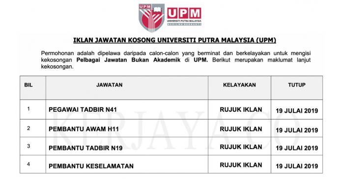 Universiti Putra Malaysia (UPM)
