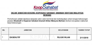 Koperasi Sahabat Amanah Ikhtiar Malaysia Berhad