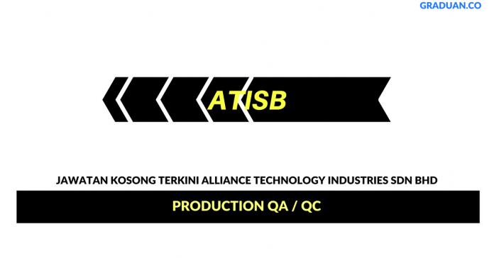Permohonan Jawatan Kosong Terkini Alliance Technology Industries Sdn Bhd