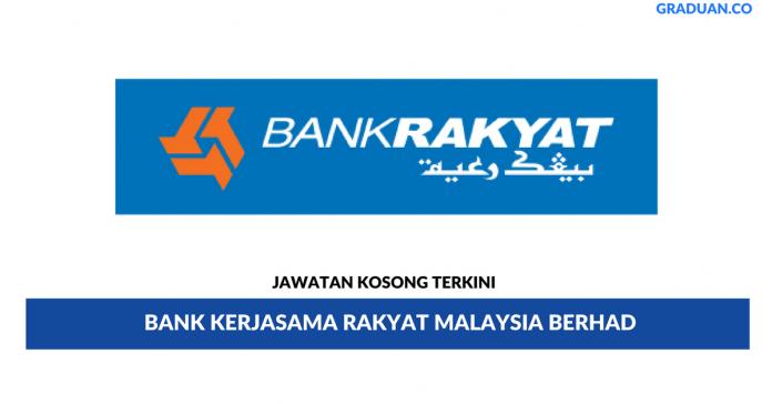 Permohonan Jawatan Kosong Terkini Bank Kerjasama Rakyat Malaysia Berhad