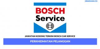 Permohonan Jawatan Kosong Terkini Bosch Car Service