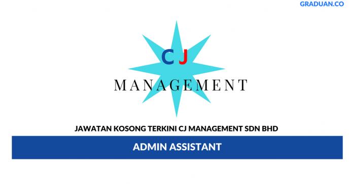 Permohonan Jawatan Kosong Terkini CJ Management Sdn Bhd