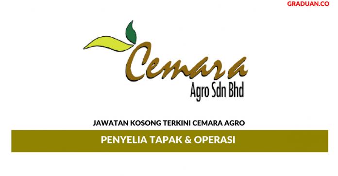 Permohonan Jawatan Kosong Terkini Cemara Agro