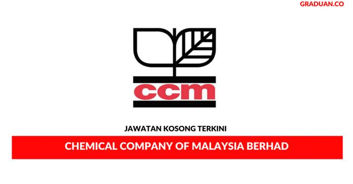 Permohonan Jawatan Kosong Terkini Chemical Company of Malaysia Berhad