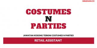Permohonan Jawatan Kosong Terkini Costumes N Parties