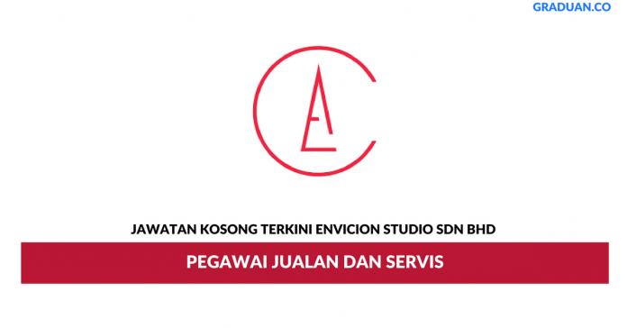 Permohonan Jawatan Kosong Terkini Envicion Studio Sdn Bhd