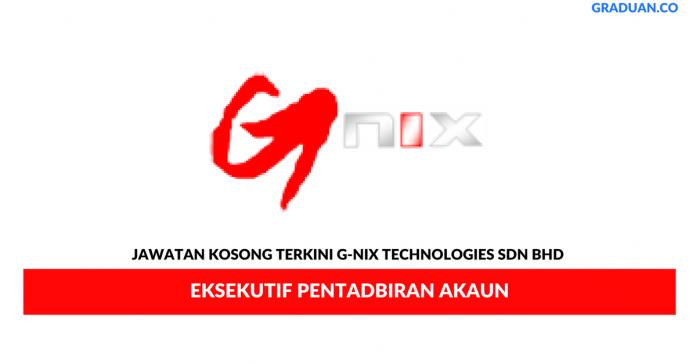 Permohonan Jawatan Kosong Terkini G-Nix Technologies Sdn Bhd