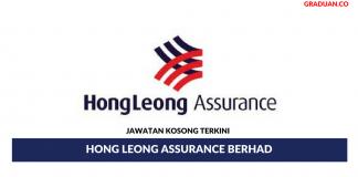 Permohonan Jawatan Kosong Terkini Hong Leong Assurance Berhad