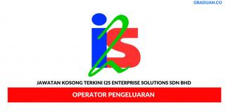 Permohonan Jawatan Kosong Terkini I2s Enterprise Solutions Sdn Bhd