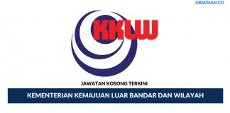 Permohonan Jawatan Kosong Terkini Kementerian Kemajuan Luar Bandar dan Wilayah