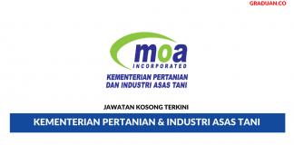 Permohonan Jawatan Kosong Terkini Kementerian Pertanian & Industri Asas Tani