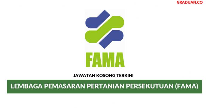 Permohonan Jawatan Kosong Terkini Lembaga Pemasaran Pertanian Persekutuan (FAMA)
