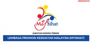 Permohonan Jawatan Kosong Terkini Lembaga Promosi Kesihatan Malaysia (Mysihat)