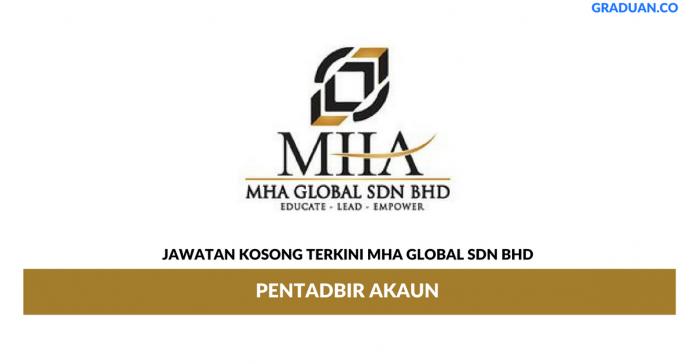 Permohonan Jawatan Kosong Terkini MHA Global Sdn Bhd
