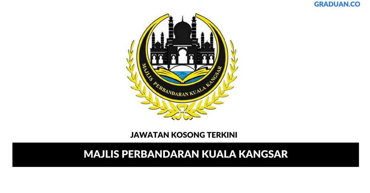 Permohonan Jawatan Kosong Majlis Perbandaran Kuala Kangsar Portal Kerja Kosong Graduan