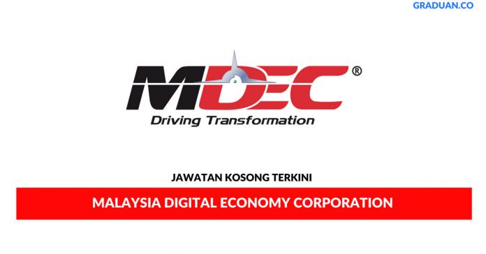 Permohonan Jawatan Kosong Terkini Malaysia Digital Economy Corporation Sdn Bhd
