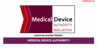 Permohonan Jawatan Kosong Terkini Medical Device Authority