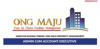 Permohonan Jawatan Kosong Terkini Ong Maju Property Management