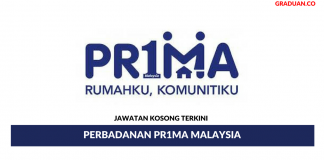 Permohonan Jawatan Kosong Terkini Perbadanan Pr1ma Malaysia.