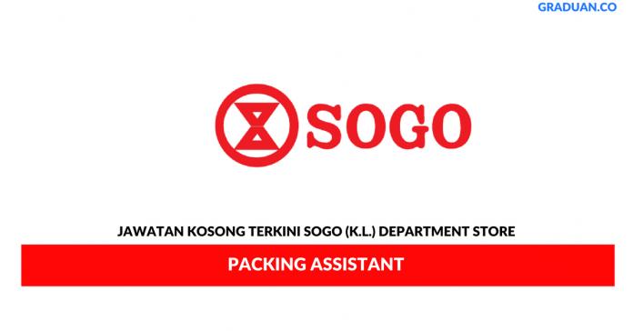 Permohonan Jawatan Kosong Terkini SOGO (K.L.) Department Store