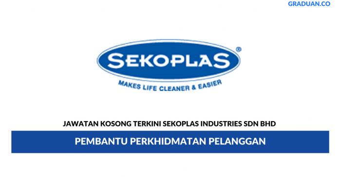 Permohonan Jawatan Kosong Terkini Sekoplas Industries Sdn Bhd