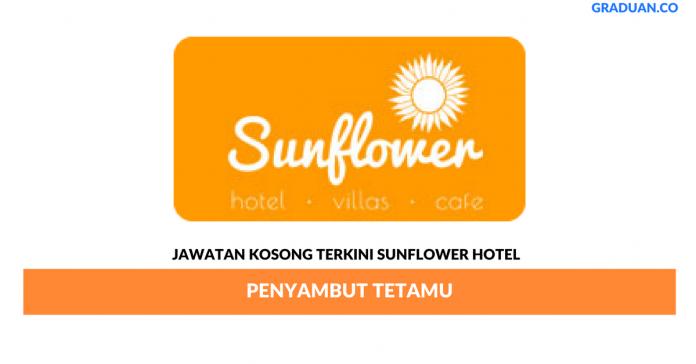 Permohonan Jawatan Kosong Terkini Sunflower Hotel