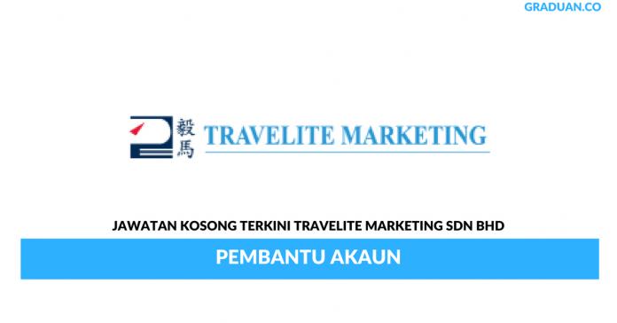 Permohonan Jawatan Kosong Terkini Travelite Marketing Sdn Bhd