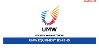 Permohonan Jawatan Kosong Terkini UMW Equipment Sdn Bhd