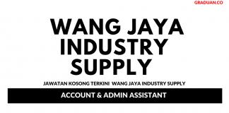 Permohonan Jawatan Kosong Terkini Wang Jaya Industry Supply