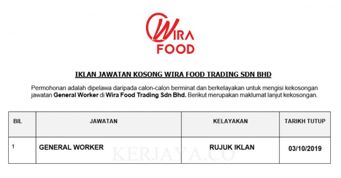 Wira Food Trading Sdn Bhd