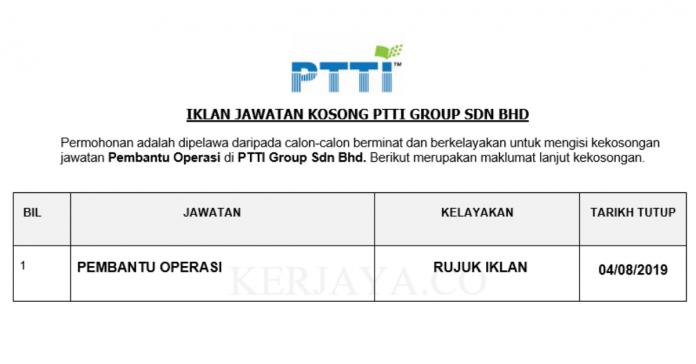 PTTI Group Sdn Bhd