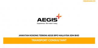 Permohonan Jawatan Kosong Terkini Aegis BPO Malaysia Sdn Bhd