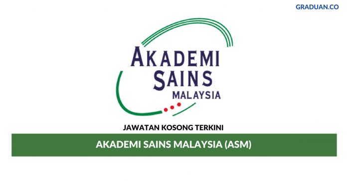 Permohonan Jawatan Kosong Terkini Akademi Sains Malaysia (ASM)