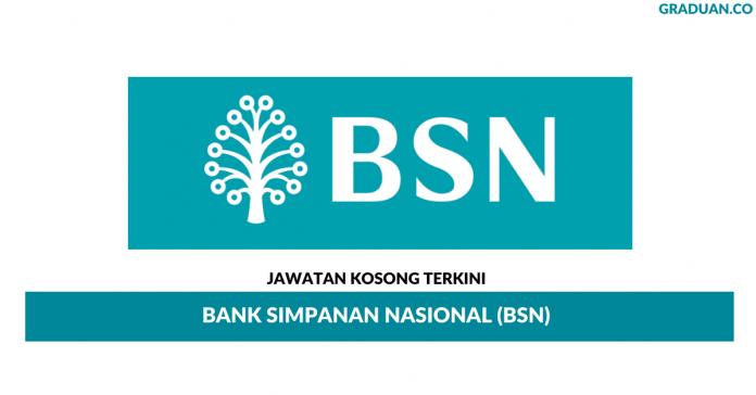 Permohonan Jawatan Kosong Terkini Bank Simpanan Nasional (BSN)