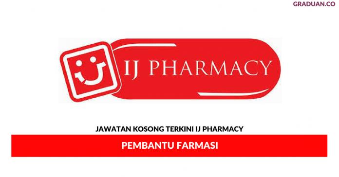 Permohonan Jawatan Kosong Terkini IJ Pharmacy