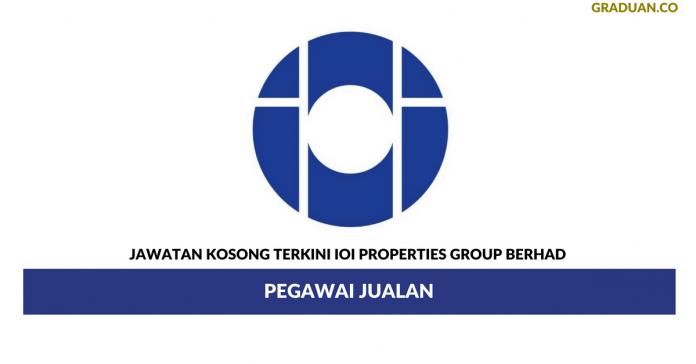 Permohonan Jawatan Kosong Terkini IOI Properties Group Berhad