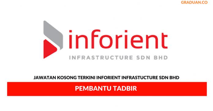 Permohonan Jawatan Kosong Terkini Inforient Infrastucture Sdn Bhd