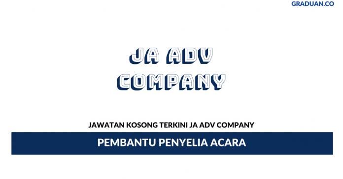 Permohonan Jawatan Kosong Terkini JA Adv Company