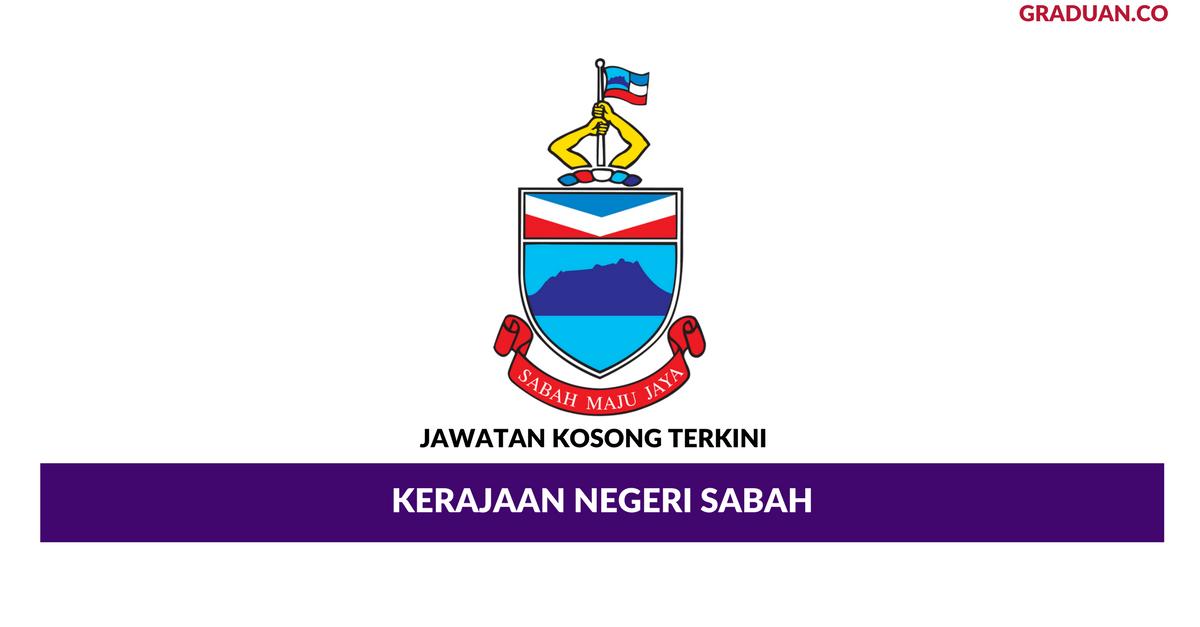 Permohonan Jawatan Kosong Kerajaan Negeri Sabah Portal Kerja Kosong Graduan