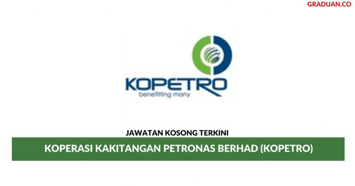 Permohonan Jawatan Kosong Terkini Koperasi Kakitangan PETRONAS Berhad (KOPETRO)