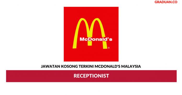 Permohonan Jawatan Kosong Terkini McDonald's Malaysia