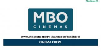 Permohonan Jawatan Kosong Terkini Mcat Box Office Sdn Bhd