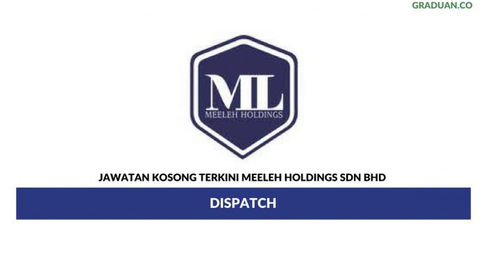 Permohonan Jawatan Kosong Terkini Meeleh Holdings Sdn Bhd