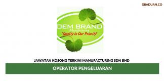Permohonan Jawatan Kosong Terkini Oem Brand Manufacturing Sdn Bhd