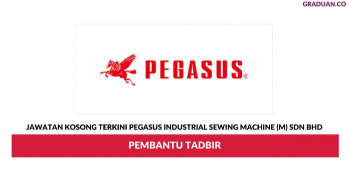 Permohonan Jawatan Kosong Terkini Pegasus Industrial Sewing Machine (M) Sdn Bhd
