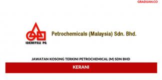 Permohonan Jawatan Kosong Terkini Petrochemical (M) Sdn Bhd