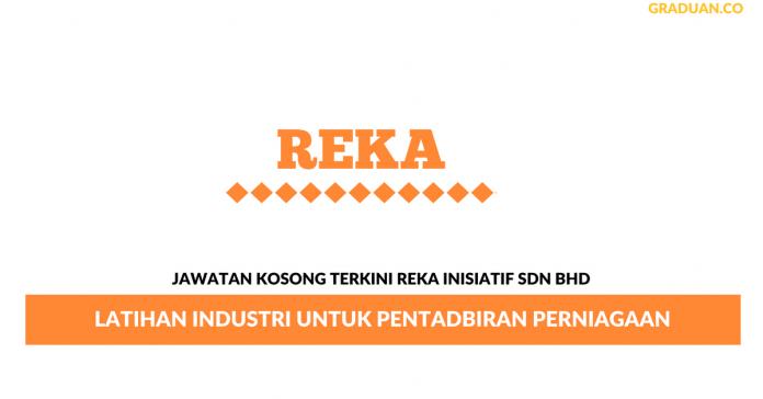 Permohonan Jawatan Kosong Terkini REKA Inisiatif Sdn Bhd