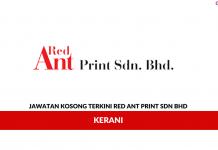 Permohonan Jawatan Kosong Terkini Red Ant Print Sdn Bhd