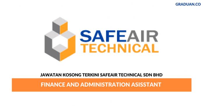 Permohonan Jawatan Kosong Terkini Safeair Technical Sdn Bhd